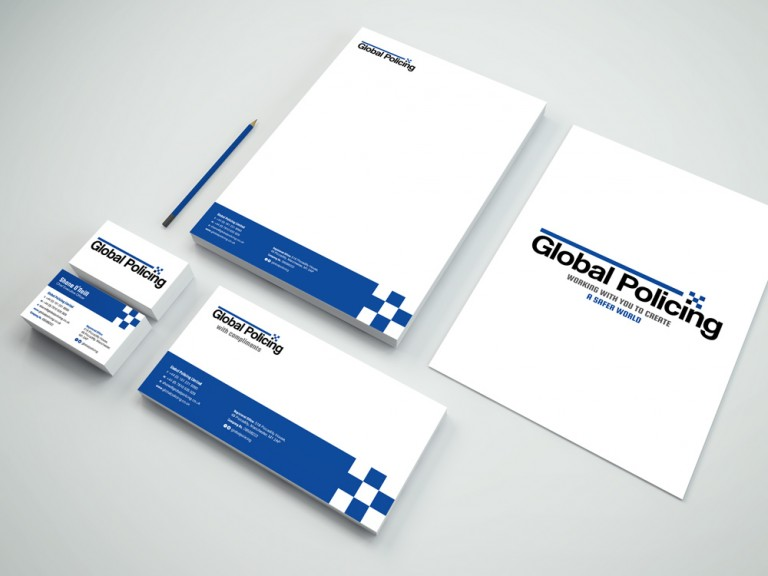 Global Policing Limited: Stationery Design
