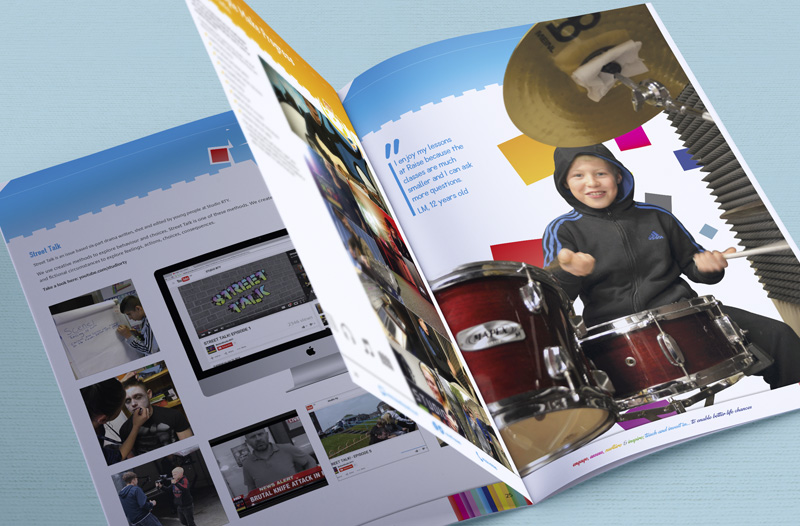 Raise the Youth Prospectus Report / Brochure